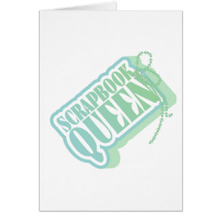 Tag Scrapbook Queen Card