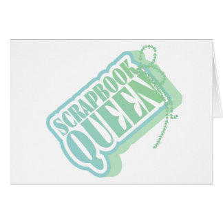 Tag Scrapbook Queen Tshirts and Gifts Card
