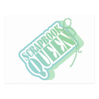 Tag Scrapbook Queen Tshirts and Gifts Postcard