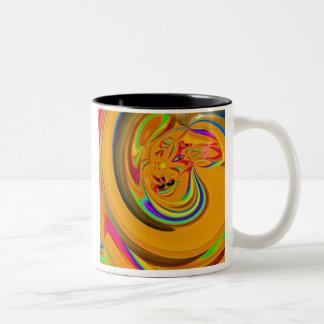 Tag Team Two-Tone Coffee Mug