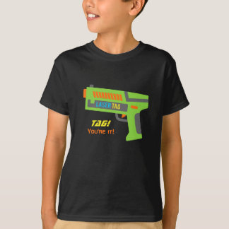 Tag You Are It Laser Tag Toy Gun for Kids T-Shirt