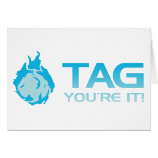 TAG You're it! - Sticky Grenade game gamer Card