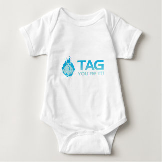 TAG You're it! - Sticky Grenade Halo game gamer Baby Bodysuit