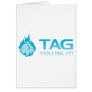 TAG You're it! - Sticky Grenade Halo game gamer Card