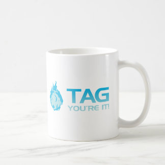 TAG You're it! - Sticky Grenade Halo game gamer Coffee Mug