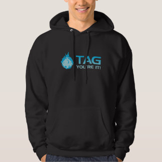 TAG You're it! - Sticky Grenade Halo game gamer Hooded Pullover