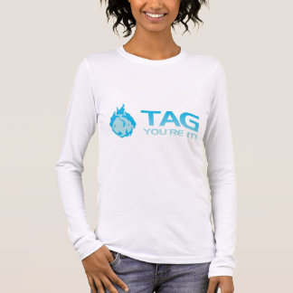 TAG You're it! - Sticky Grenade Halo game gamer Long Sleeve T-Shirt
