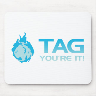 TAG You're it! - Sticky Grenade Halo game gamer Mouse Pad
