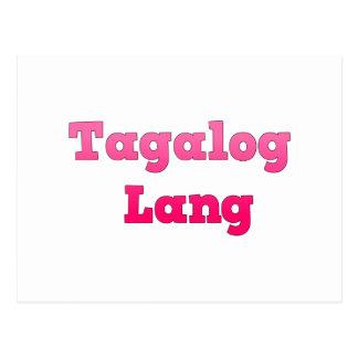 Tagalog Lang Postcards