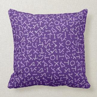 Tagbanwa Throw Pillow