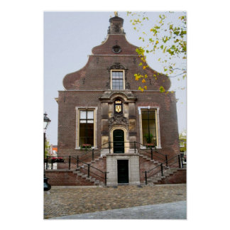 tage Dutch image, Schiedam, old town hall Poster