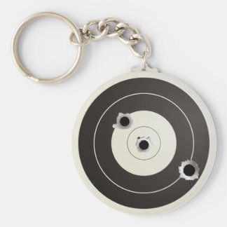 Taget shooting keychain