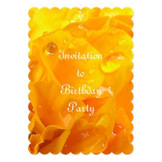 """Tagetes Invitación 5"""" X 7"""""""