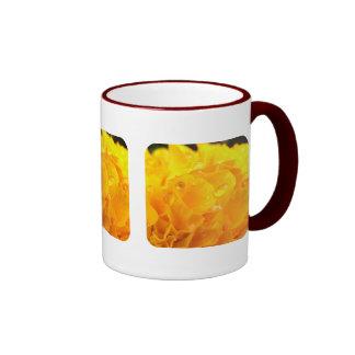 Tagetes Ringer Coffee Mug