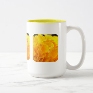 Tagetes Two-Tone Coffee Mug