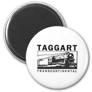 Taggart Transcontinental 2 Inch Round Magnet