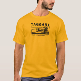 Taggart Transcontinental / Black Logo T-Shirt