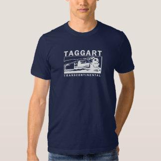 Taggart Transcontinental / White Logo T Shirt