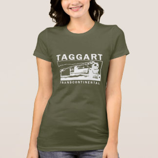 Taggart Transcontinental / White Logo T-Shirt