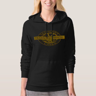 Taggart Transcontinental Women's Hoodie Black