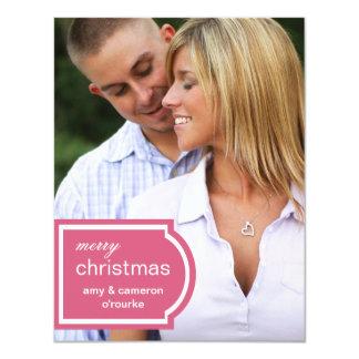 Tagged Photo Christmas Card-honeysuckle Card