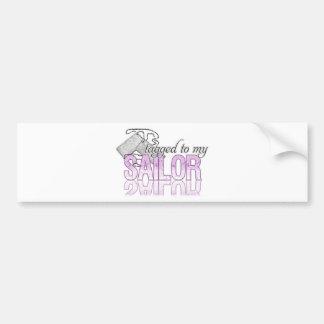 Tagged Sailor Bumper Sticker