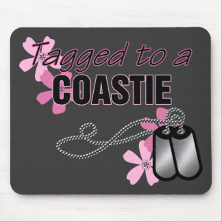 Tagged to a Coastie Mouse Pad
