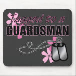 Tagged to a Guardsman Mouse Pad