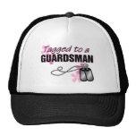 Tagged to a Guardsman Trucker Hat