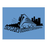 Taggert transcontinental tarjeta postal
