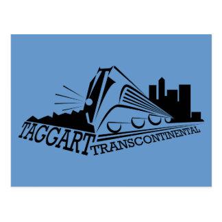 Taggert transcontinental tarjetas postales
