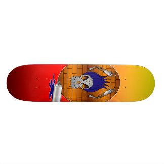 Taggin Up Custom Skateboard