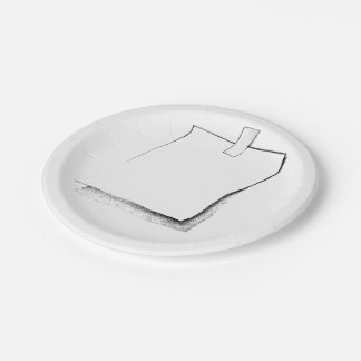 TAGGIT PAPER PLATES 7 INCH PAPER PLATE