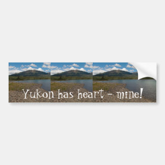 Tagish Shoreline; Yukon Territory Souvenir Bumper Sticker