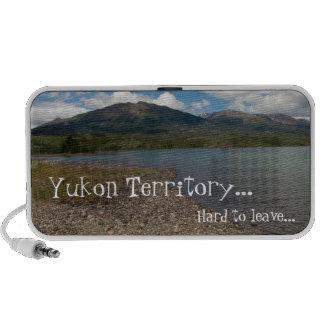 Tagish Shoreline; Yukon Territory Souvenir Travelling Speakers