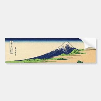 Tago Bay near Ejiri Tokaido by Katsushika Hokusai Bumper Sticker