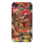 Tags and grafs iPhone 4 cases