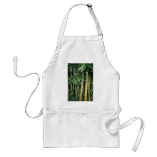 Tags on tree's adult apron