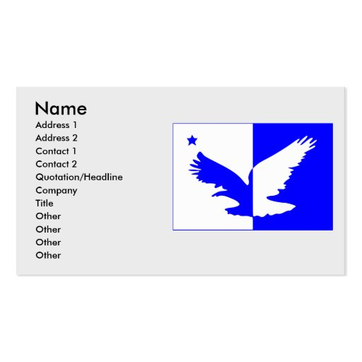 taguatinga, Brazil Double-Sided Standard Business Cards (Pack Of 100)