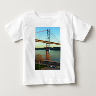 Tagus bridge, Lisbon, Portugal Baby T-Shirt