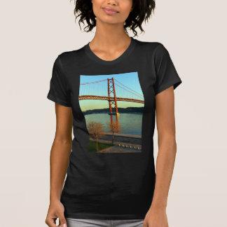 Tagus bridge, Lisbon, Portugal T-Shirt