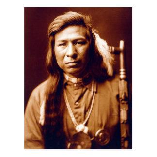 Tah él manera (nativo americano) tarjeta postal