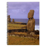 Tahai Platform Moai Statue Abstracts Easter Note Book