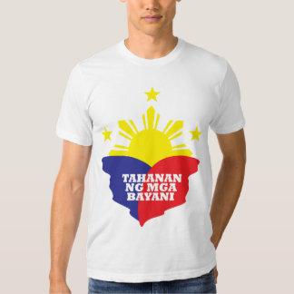 Tahanan Ng Mga Bayani T Shirts