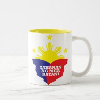 Tahanan Ng Mga Bayani Two-Tone Coffee Mug