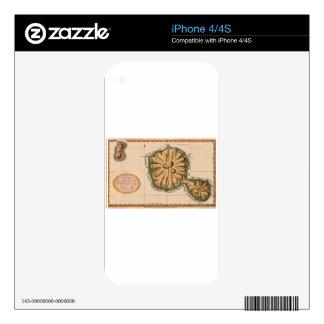 Tahiti 1769 skin for iPhone 4