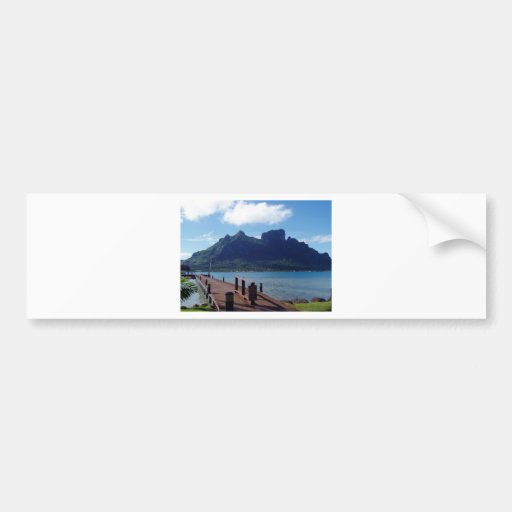 Tahiti  -  another view bumper stickers