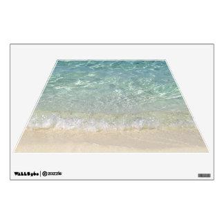 Tahiti Beach Wall Decal Trapezoid