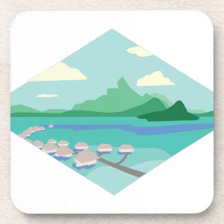 Tahiti Beverage Coaster