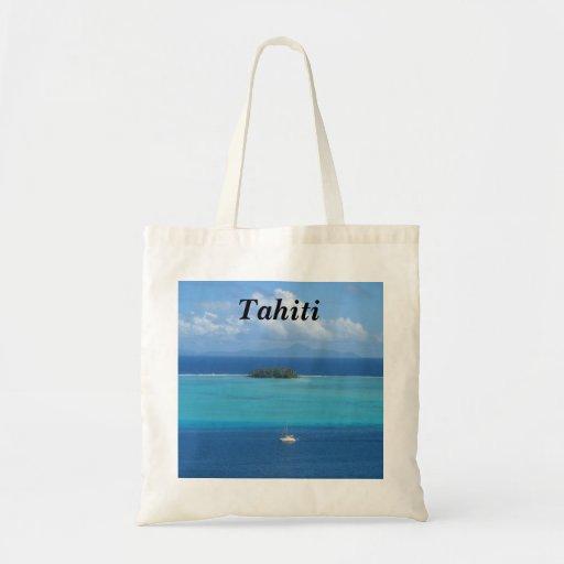Tahití Bolsa Lienzo